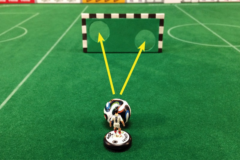 moderate Subbuteo training exercises, No. 12