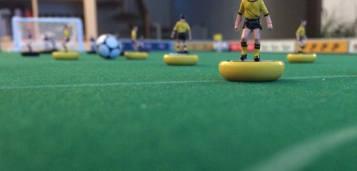 DIY Subbuteo table