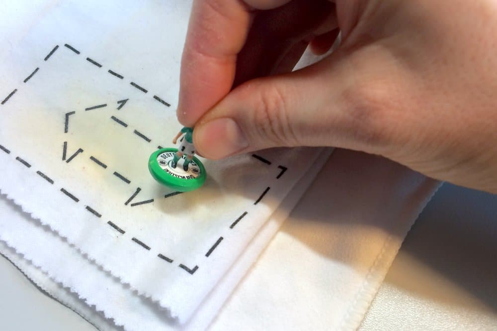 How to polish your Subbuteo bases